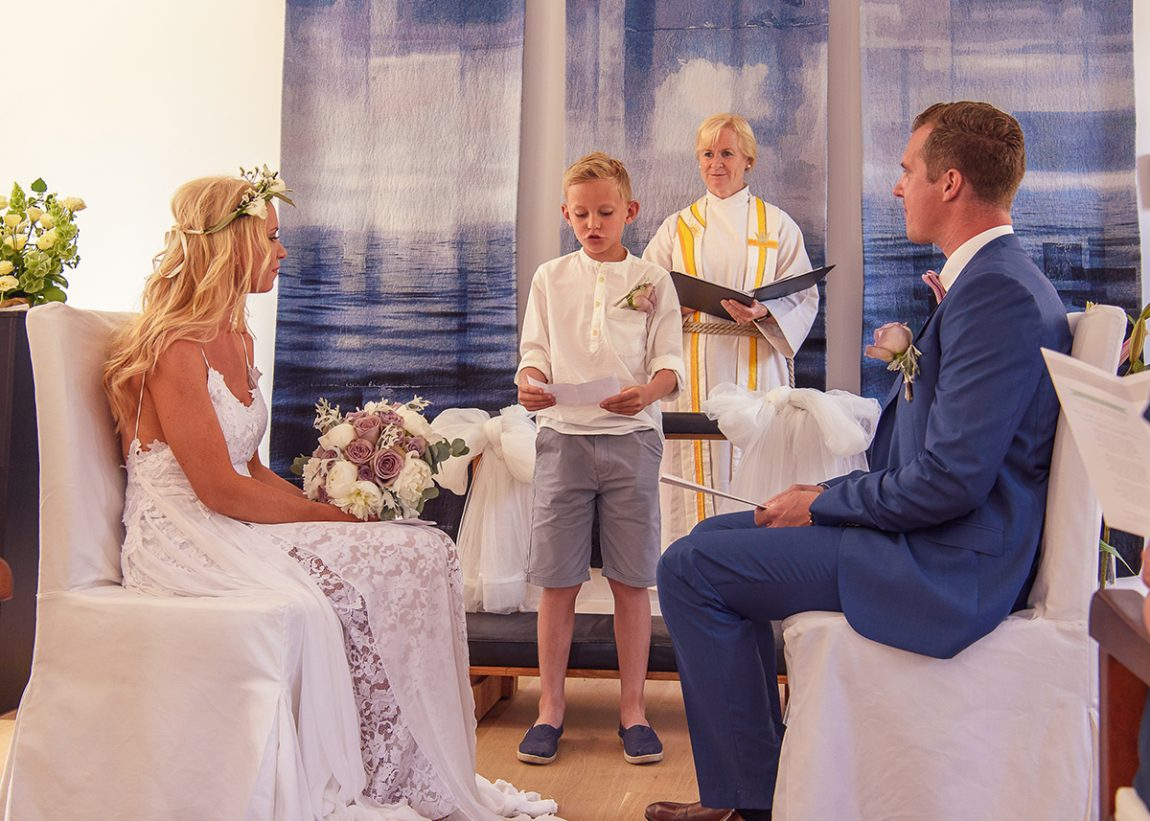 sjømannskirken Mallorca wedding photographer