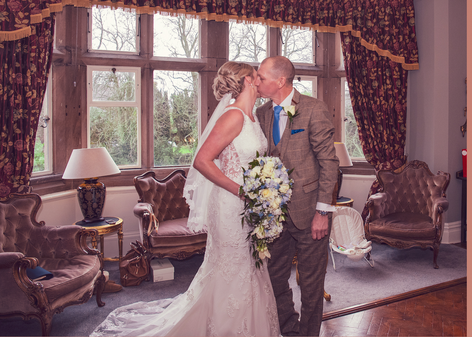 Wedding Photographer at Ellingham Hall