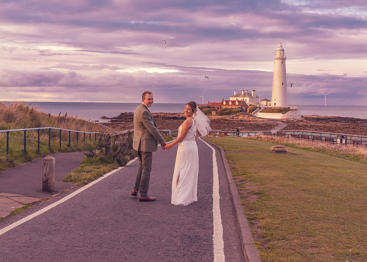 The View at Tynemouth Wedding Photographer