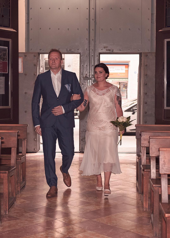 bryllup fotograf sjómannskirken Norsk kirke