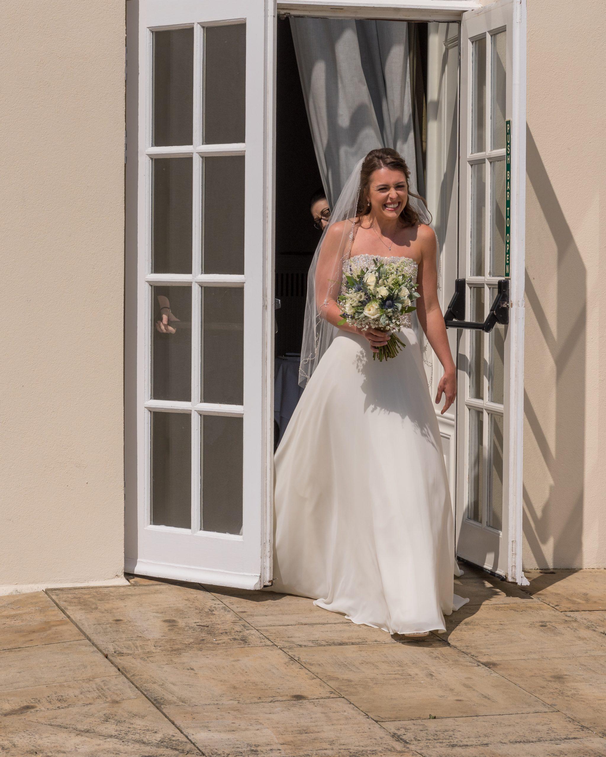 Beautiful bride at Seaham Hall