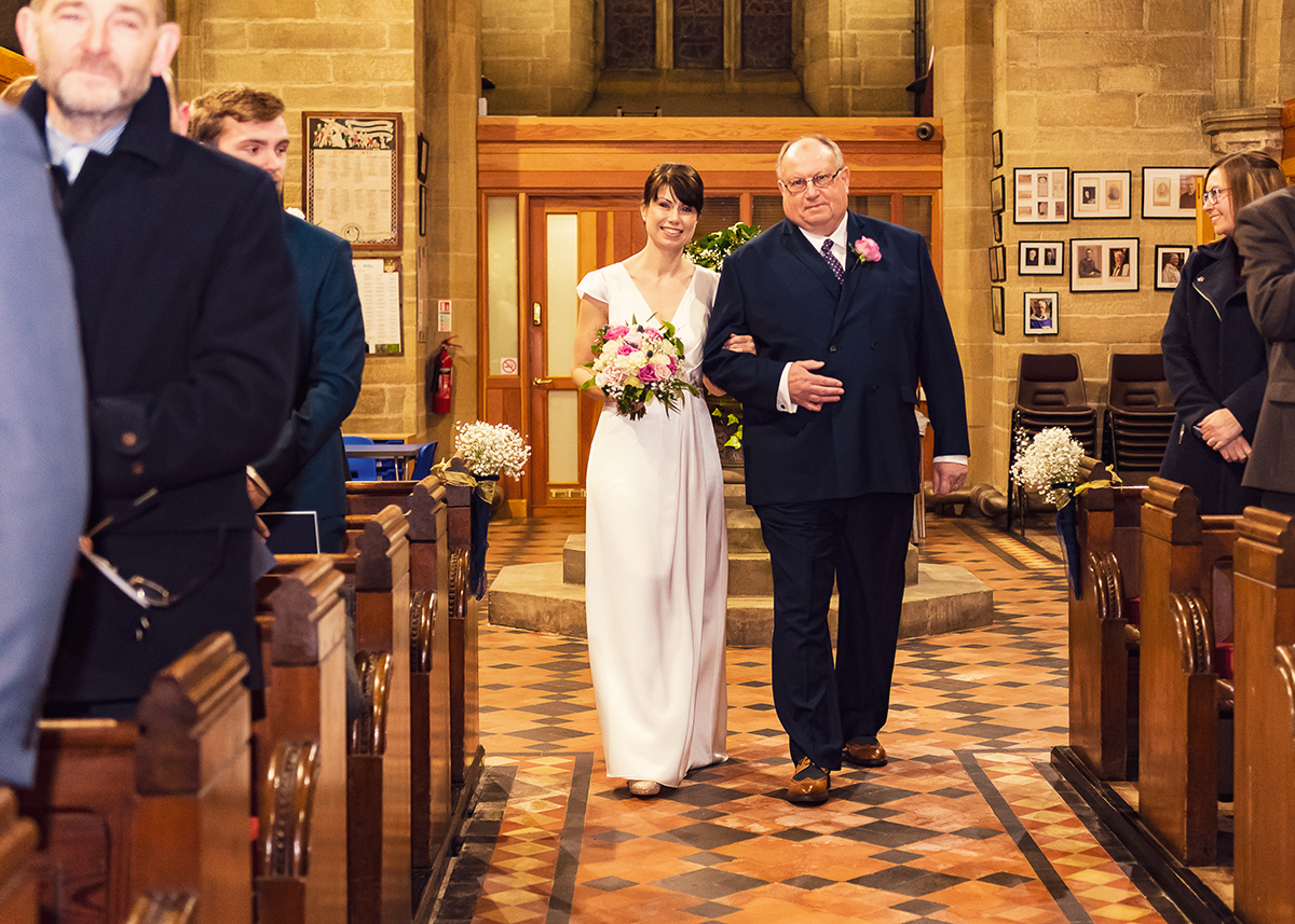 Northumberland Church Wedding Photographer