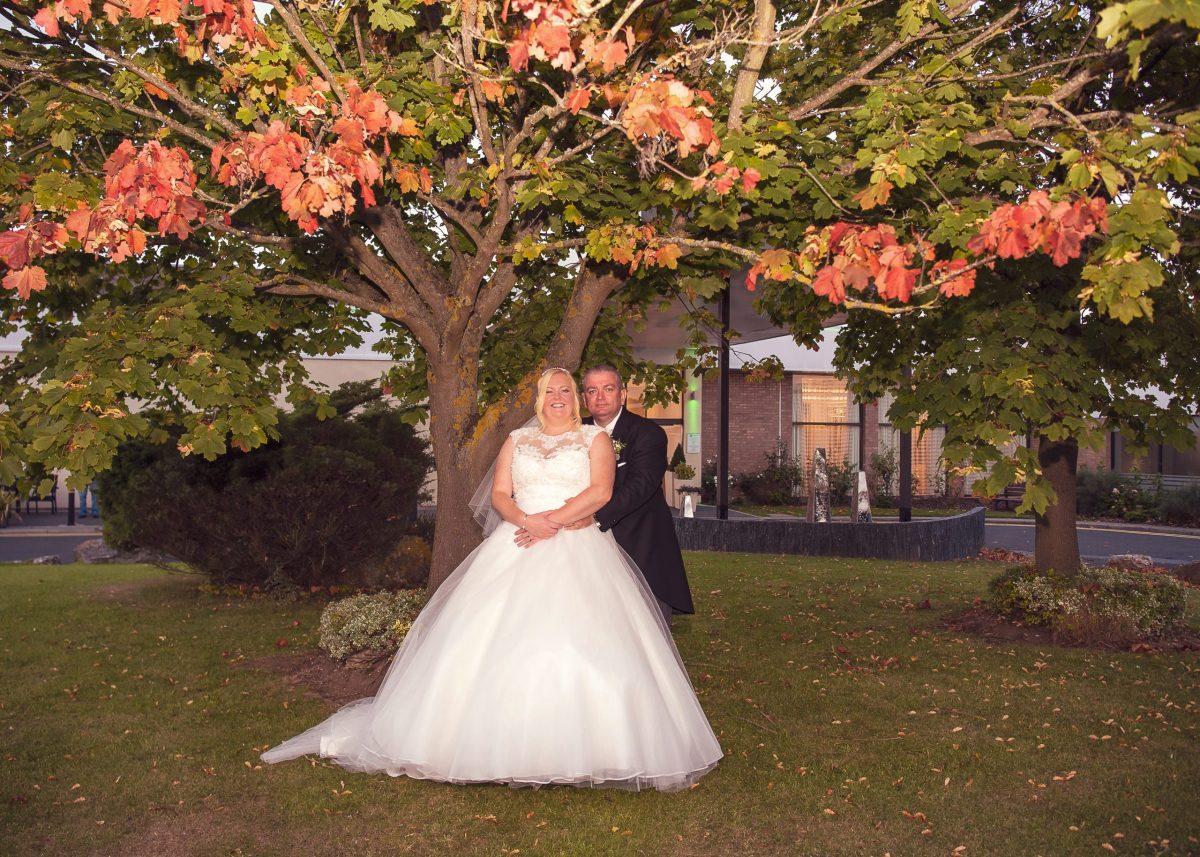 Hayley & Ian's Wedding at Gosforth Park Holiday Inn.