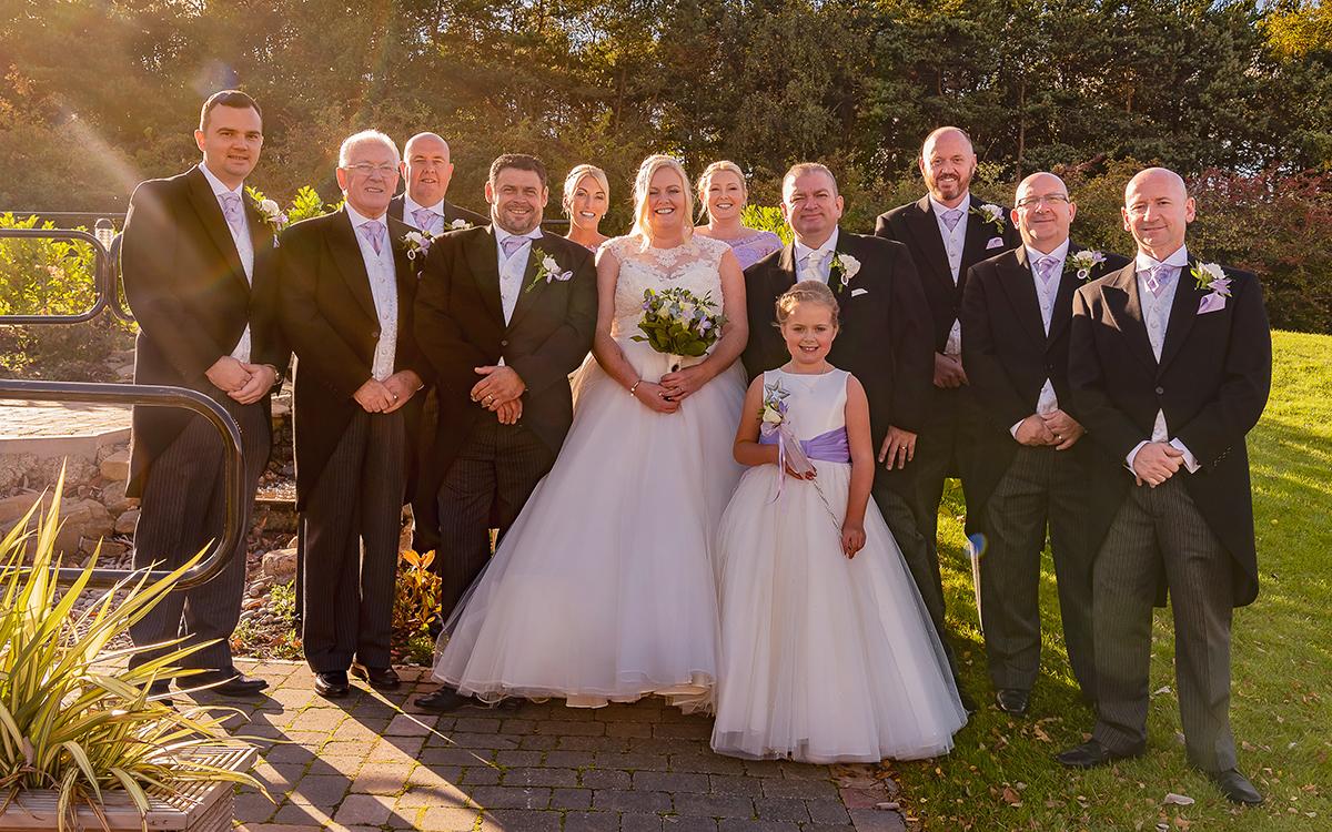 Holiday Inn Gosforth Park Wedding Photography