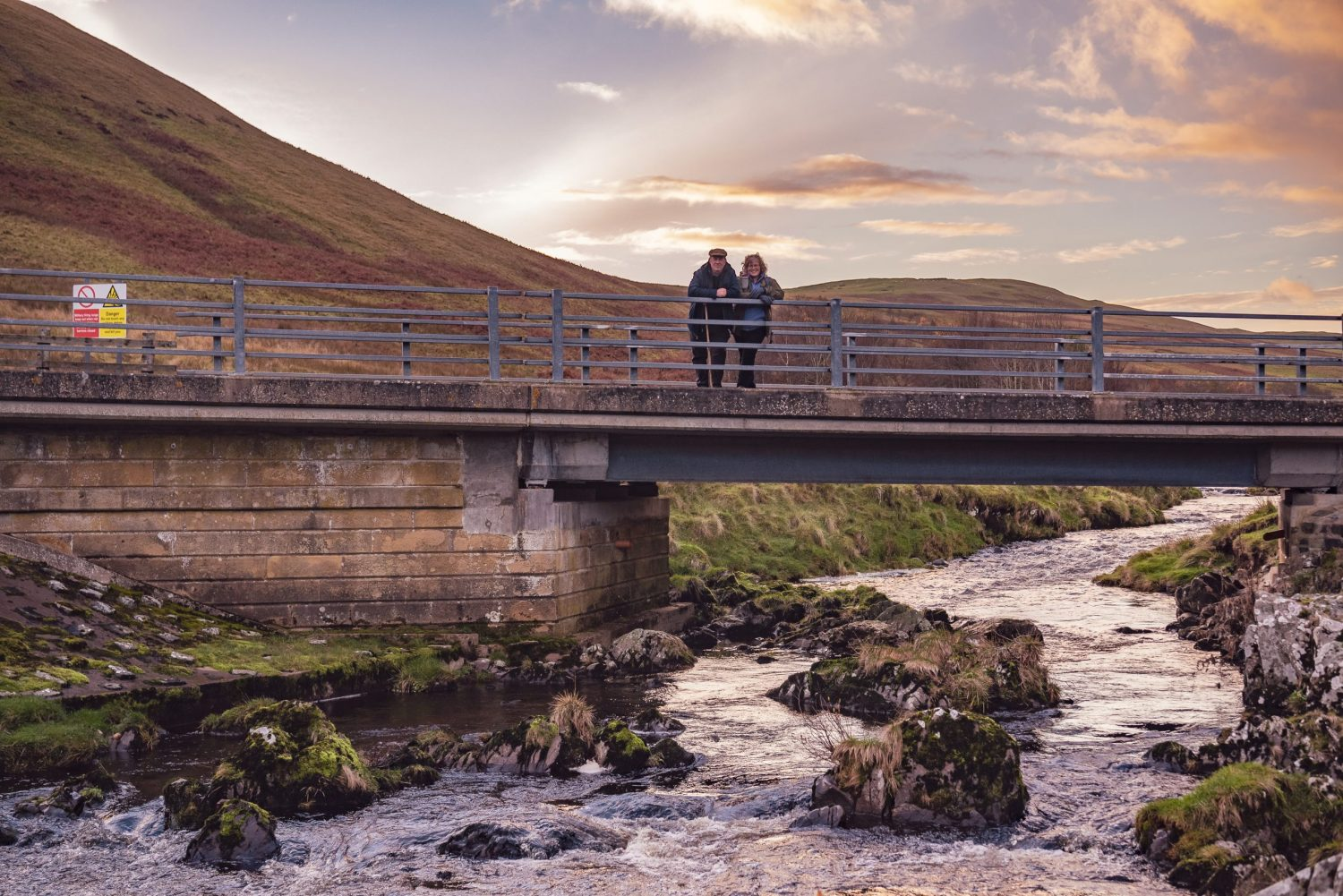 Upper Coquet Valley Northumberland Portraits in the Landscape