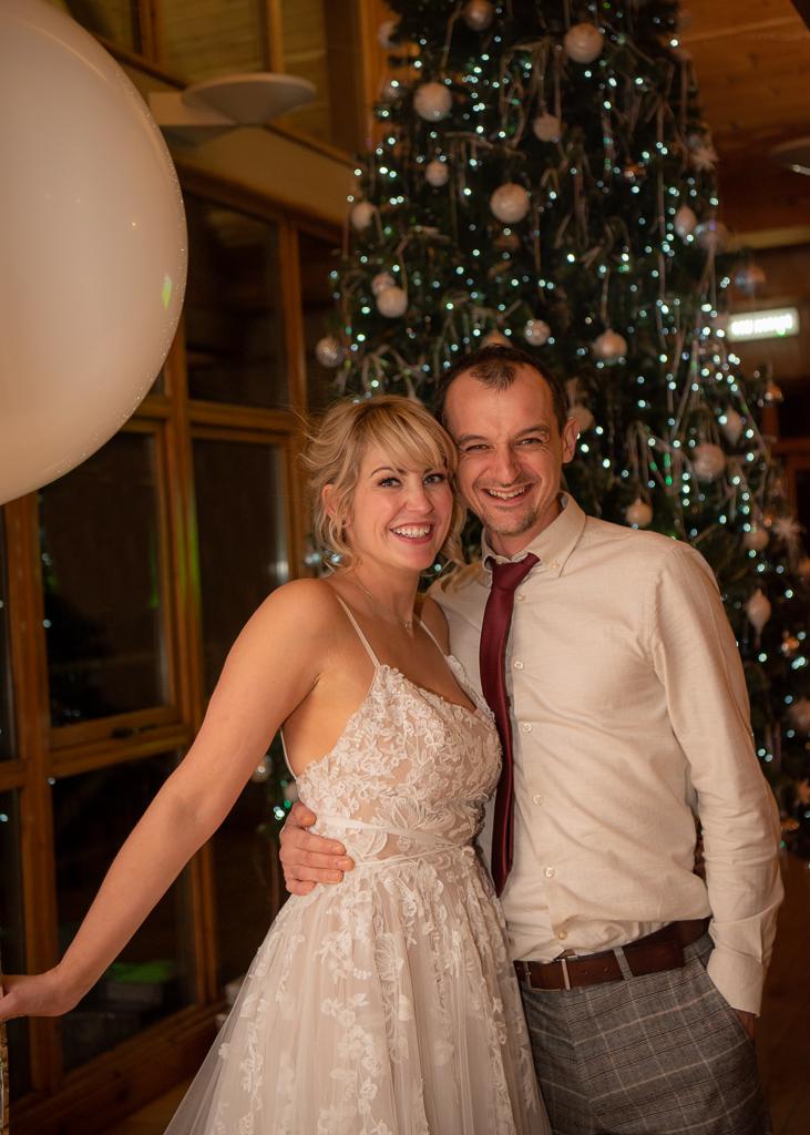 Christmas Wedding Photography