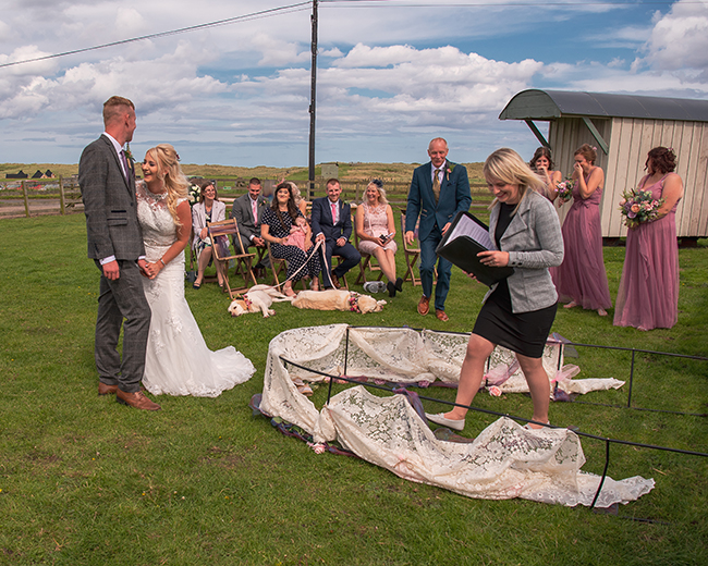 Hilarious moments that make your wedding even more fun