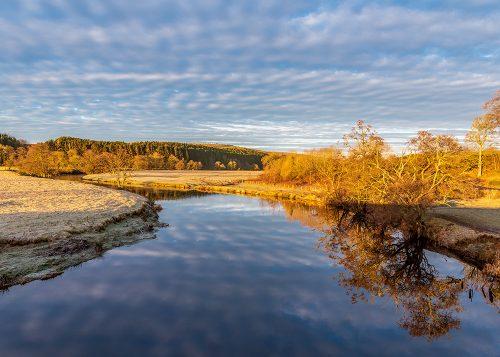 River Reflections - The River Coquet at Pauperhaugh