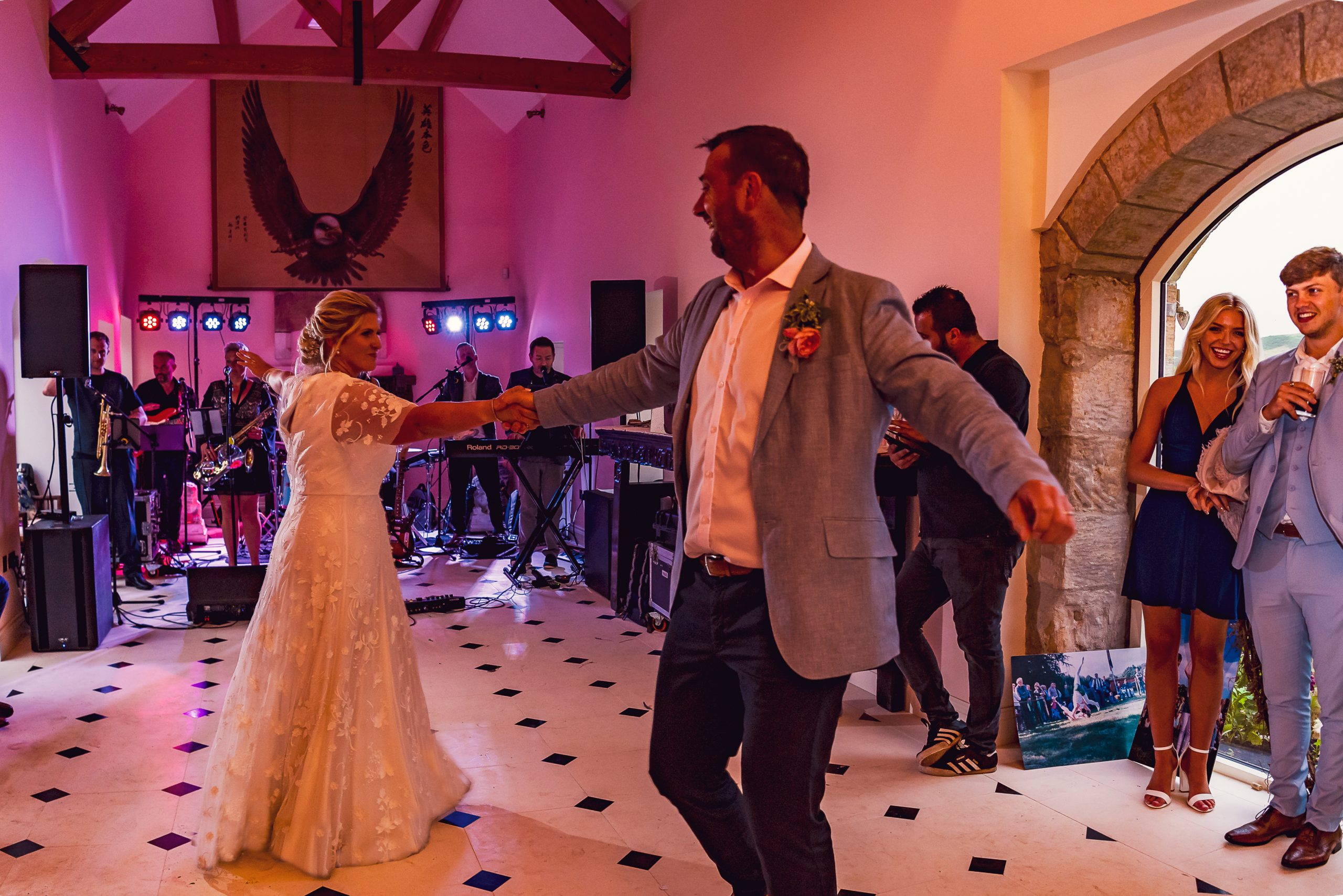 First Dance Northumberland Wedding Photography